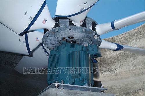 Motor tháp giải nhiệt duy trì hoạt động ổn định của thiết bị