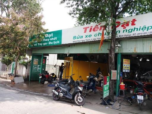 Mặt bằng tiệm rửa xe máy cần phải rộng rãi, nằm ở vị trí đẹp