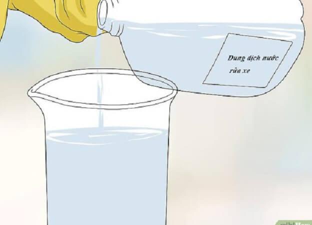 Những lưu ý cơ bản khi pha chế nước rửa xe