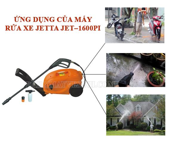 Ứng dụng của máy rửa xe Jetta Jet – 1600PI