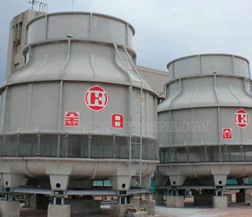 Tháp giải nhiệt là một thiết bị không thể thiếu trong các nhà máy, xí nghiệp