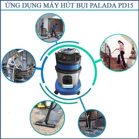 Những Model máy hút bụi công nghiệp công suất nhỏ May-hut-bui-cong-nghiep-palada-PD-15