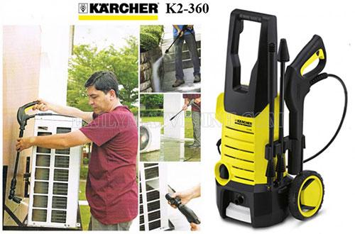 Thương hiệu máy rửa xe karcher có lịch sử phát triển lâu đời