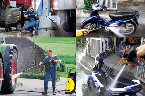 Khắc phục lỗi máy rửa xe bị nóng trong quá trình làm việc