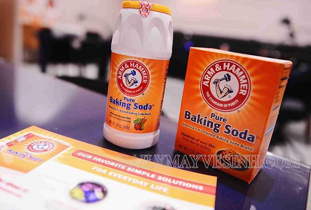 Baking soda là có khả năng làm sạch rất cao