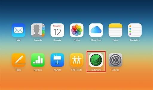 Find iPhone trên ios