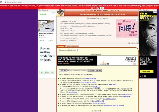 chuyển file pdf sang file word