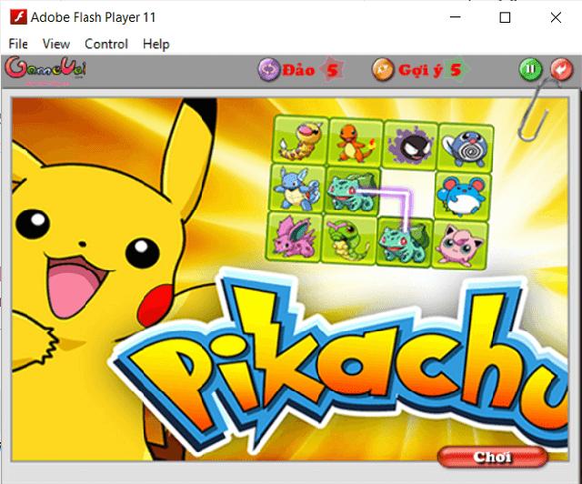 pikachu online mien phi