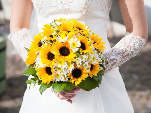 Hoa cưới hướng dương