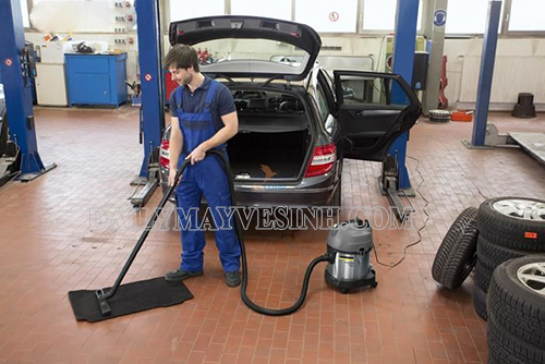 Máy hút bụi rửa xe ô tô giúp xe hơi luôn sạch sẽ, thơm tho
