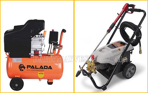 Các thiết bị cần thiết trong tiệm rửa xe máy