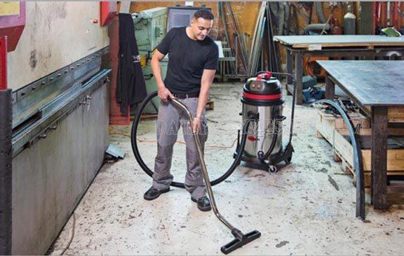 Sử dụng máy hút bụi công nghiệp đúng tần suất làm việc